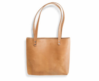 Women's leather handbag Mead