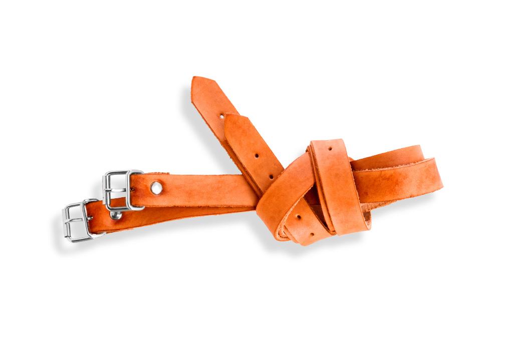 Náhradní kožené řemínky Frazer straps - oranžová