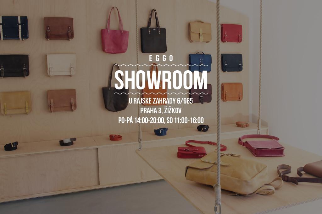 """Eggo kamenná prodejna / showroom - přijďte si prohlédnout naše kožené doplňky, kožené kabelky, kožené tašky, kožené brašny, výrobky z kůže"