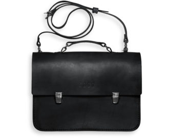Leather briefcase Morgan