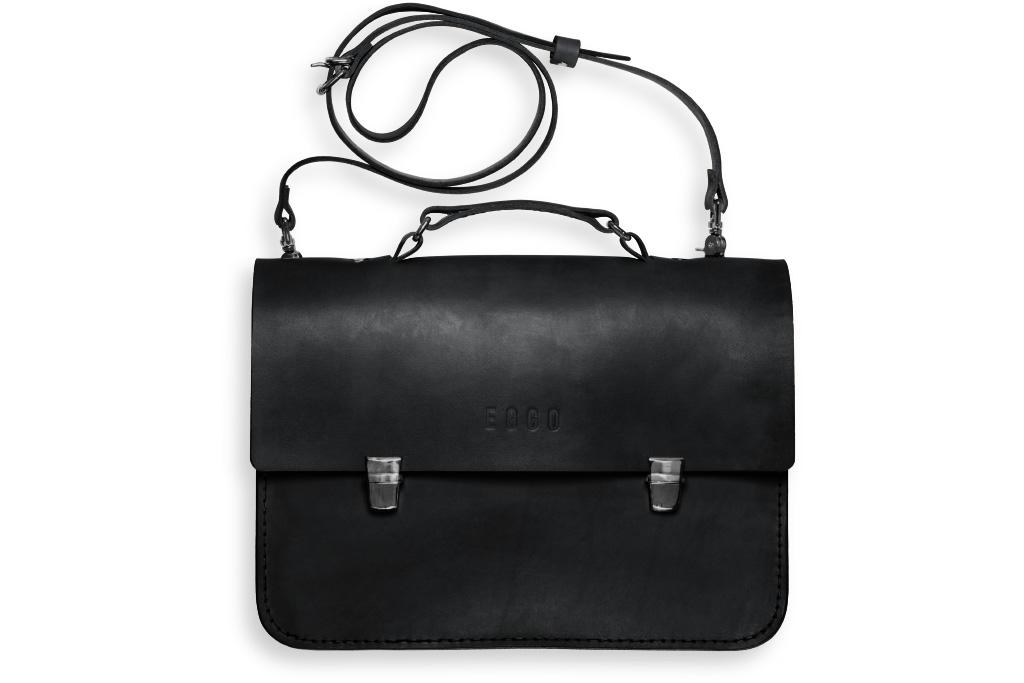Leather briefcase Morgan