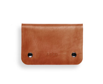 Kožená peněženka Smith S - světle hnědá
