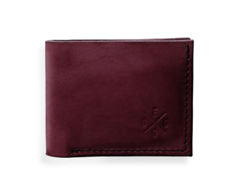 Leather wallet Rivers