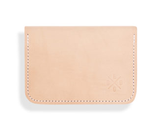 Elegant leather clutch Lowie
