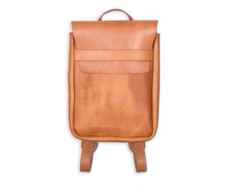 Kožený batoh Boas barva cedr