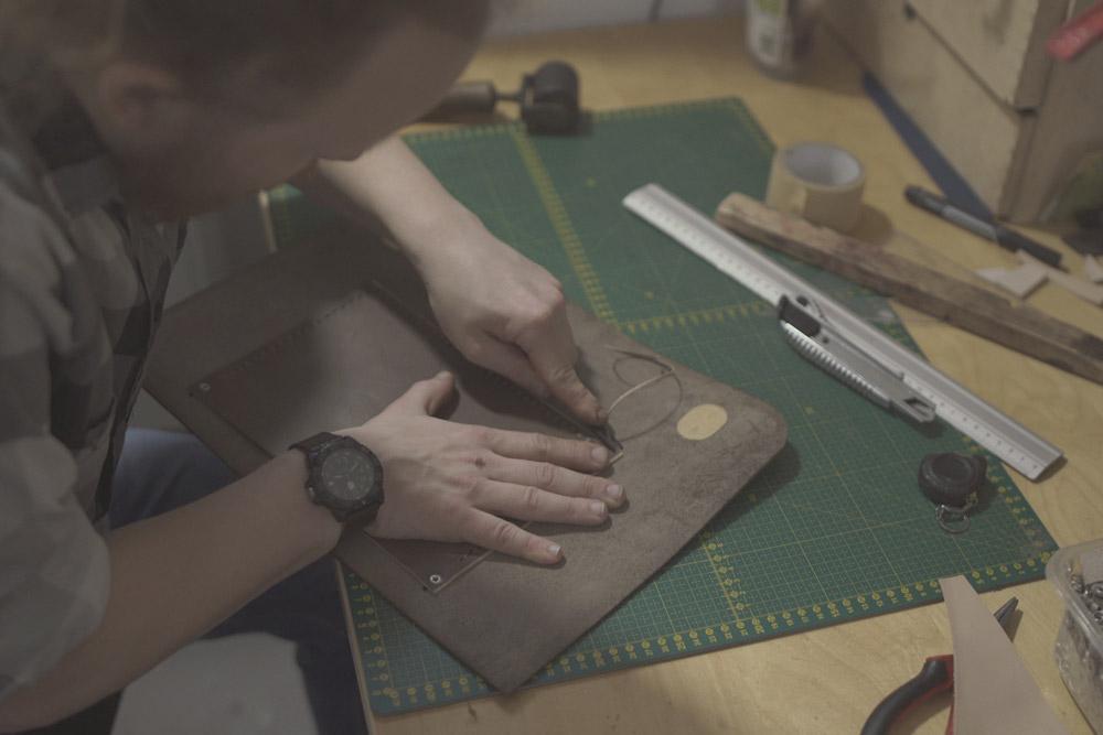 Eggo - výroba kabelek, kožené tašky, kožené pásky